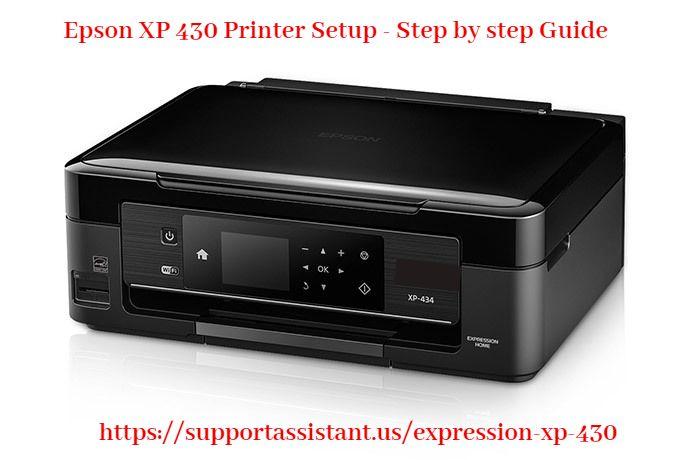 Epson Xp 430 Printer Setup Step By Step Guide Mobile Print Epson Printer