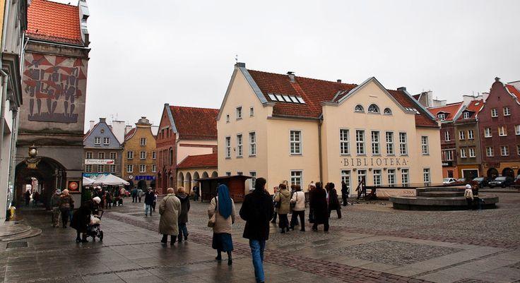 rynek w Olsztynie
