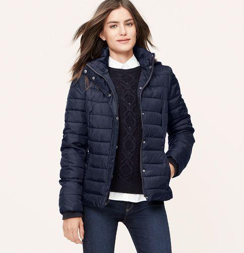 Packable Puffer Jacket | Loft
