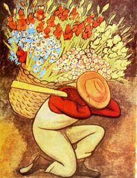 Deigo Rivera - El Vendedor de Flores