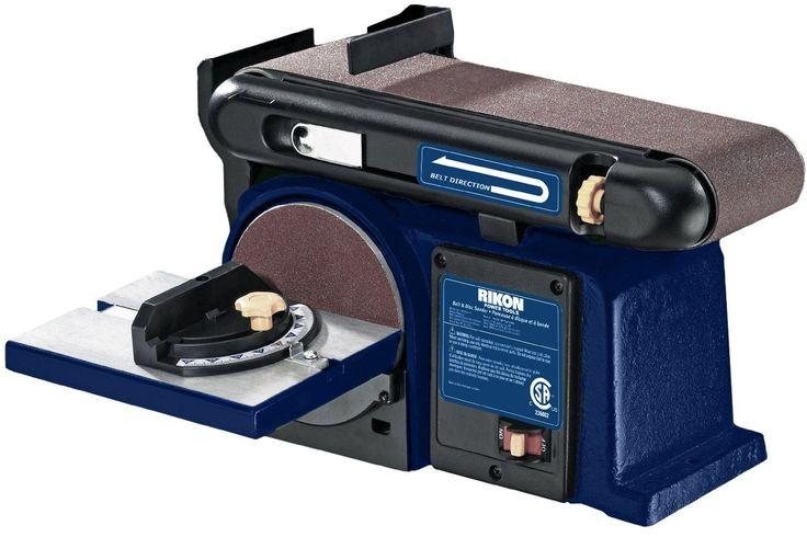 """Rikon 50-112 4"""" x 36"""" Belt with Disc Sander"""