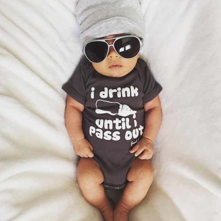 Could this little guy get any cooler in our top selling onesie? #wearallthefayebeline