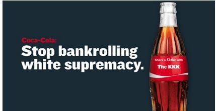 In February ColorOfChange sent letters to Coca-Cola, Google, Xerox, Adobe Systems, AT&T, and Cisco Systems asking them not to support the Republican National Convention if Donald Trump was the nominee. Coke has responded by backing away slowly from the crazy that is the sure to be the Republican