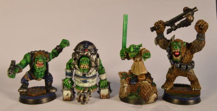 Ork Star Wars, Ork Star wars By Midget Gems