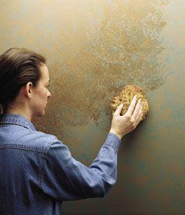 Hinterlässt einen bleibenden Eindruck durch Faux Painting