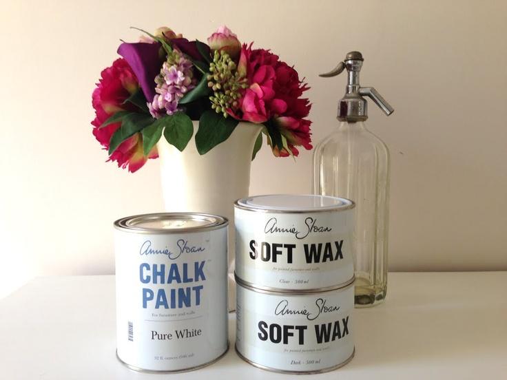 Annie Sloan Chalk Paint for furniture