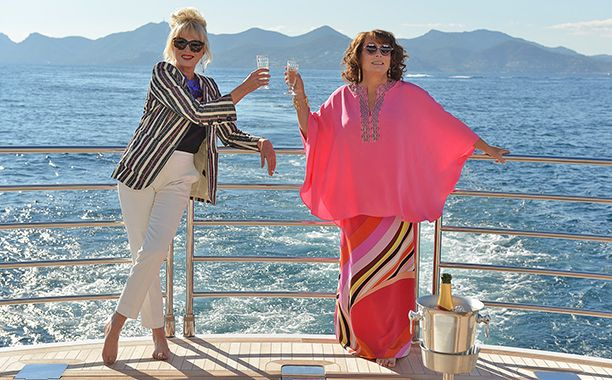 Absolutely fabulous news, darlings — the ladies of Absolutely Fabulous are back and officially making a movie.  Fox Searchlight and BBC Films announced Monday that filming has begun on a film version of the hit British sitcom, with Jennifer Saunders and Joanna Lumley reprising their famous roles as Edina and Patsy. Other members of the original cast are also returning, including includes Julia Sawalha as Saffy, Jane Horrocks as Bubble, and June Whitfield as Mother.