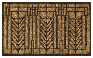 Tree of Life Doormat - Craftsman - Doormats - by Maclin Studio