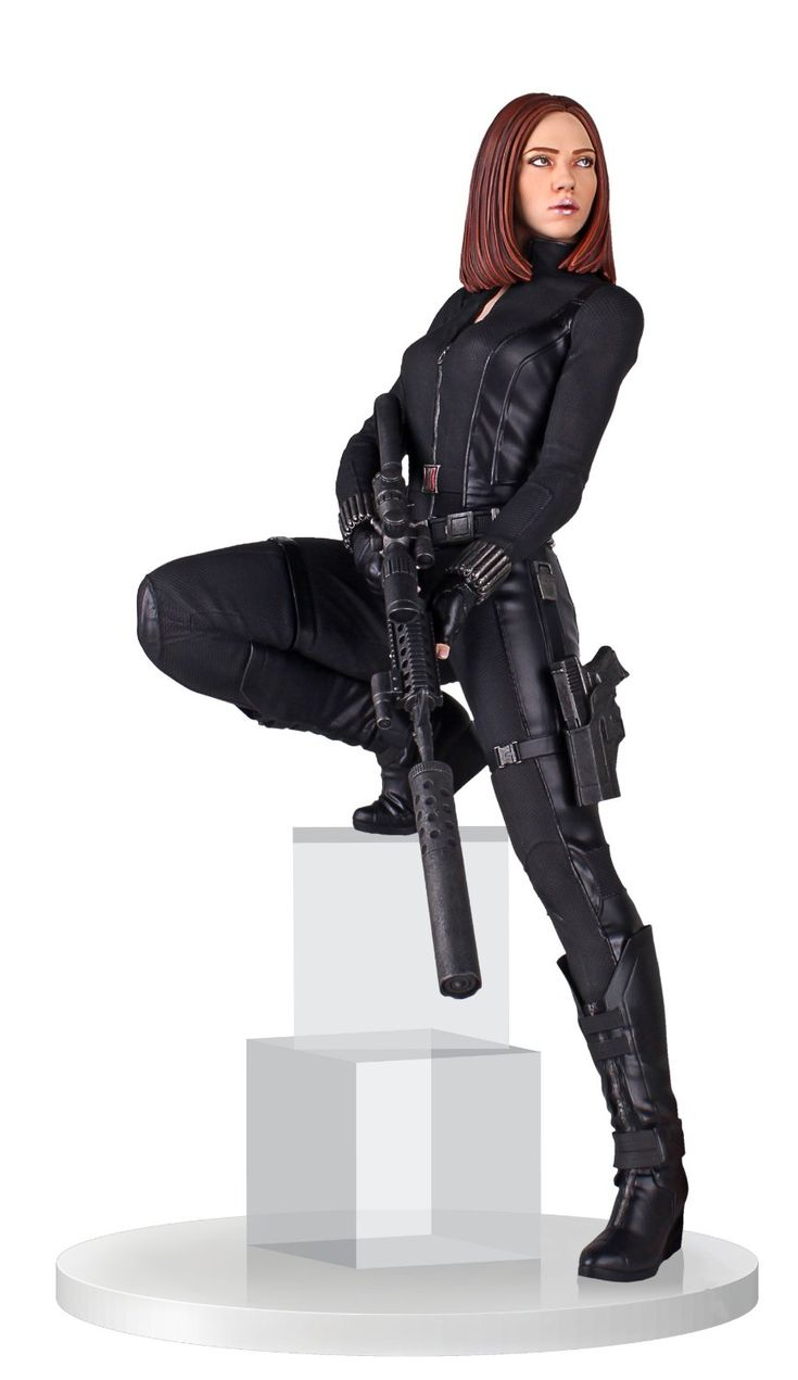 Black Widow Statue from Gentle Giant | Comic Book Statues and Busts