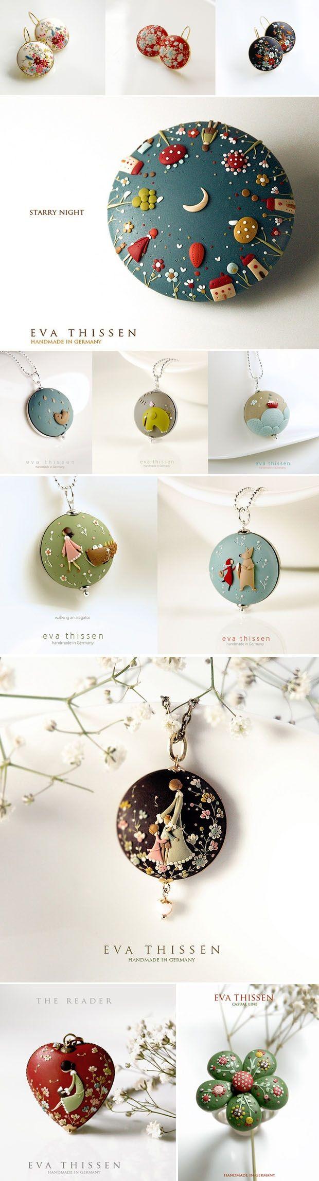 Šperky z FIMA prekypujúce detailami   Eva Thissen