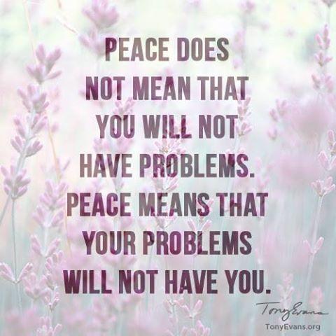 No God, no peace. Know God, know peace!                                                                                                                                                                                 More