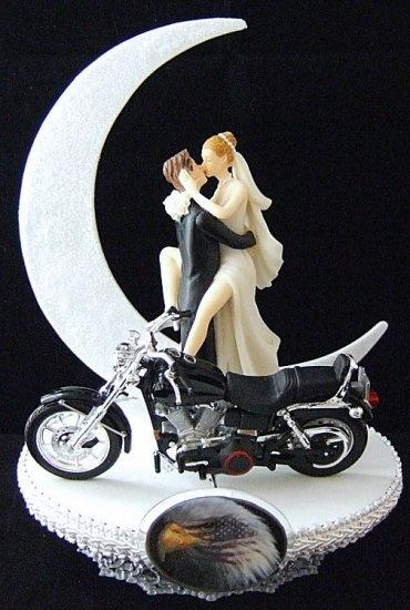 Harley Cake Topper 5 Topperswedding Cakescake Wedding