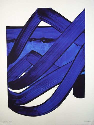 Pierre Soulages serigraphie n°18 by chiobdeo, via Flickr