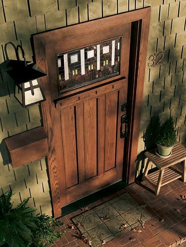 Bring back a missing original with a good reproduction, like the 'KLM' from Andersen Windows & Doors.