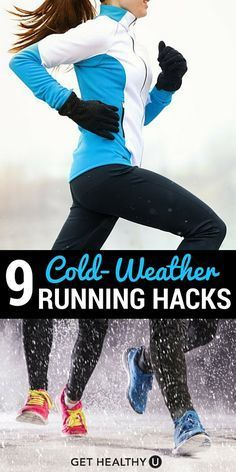 Pin these hacks for running in the cold weather.