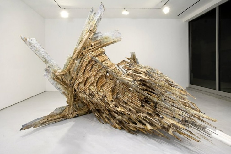Diana Al-Hadid, The tower of Infinite problems, 2008