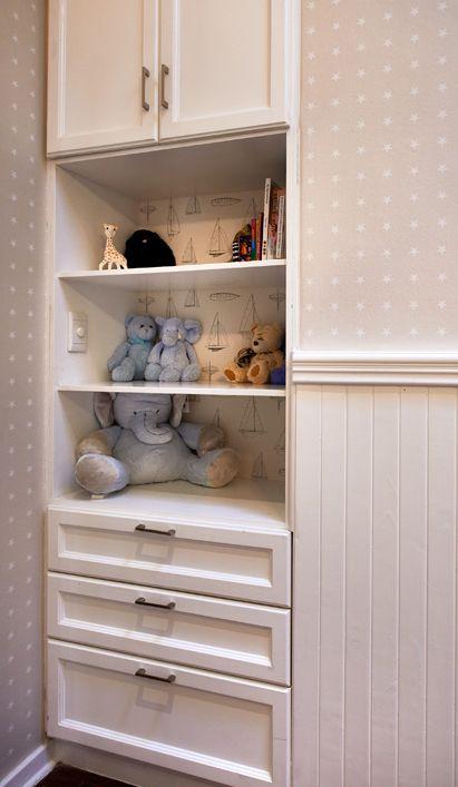 Wall paper detail Children's rooms | Nicole Davis Interiors