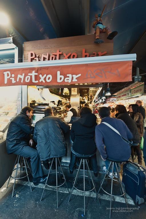 Tapas in Barcelona - Pinotxo Bar