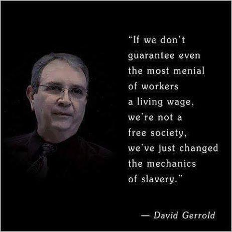Minimum Wage = Living Wage