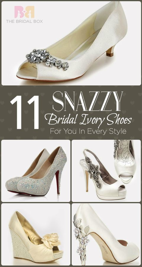 11 Snazzy Bridal Ivory Shoes For You In Every Style