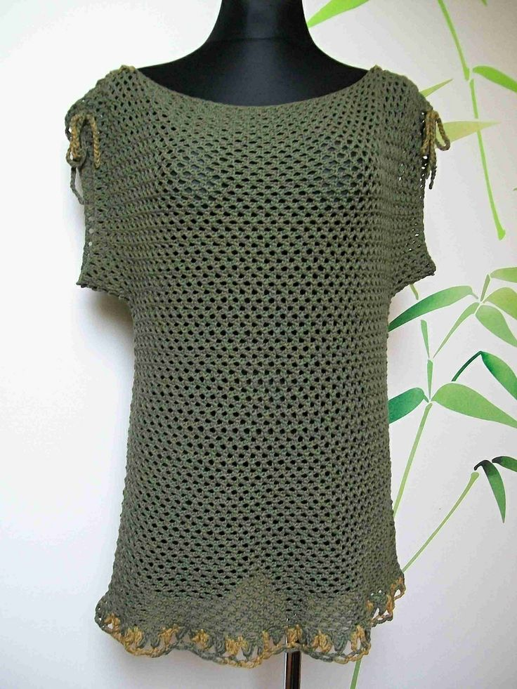 Summer Crochet Tunic - cotton