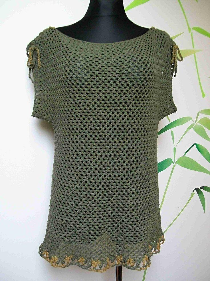 Summer Crochet Tunic - cotton