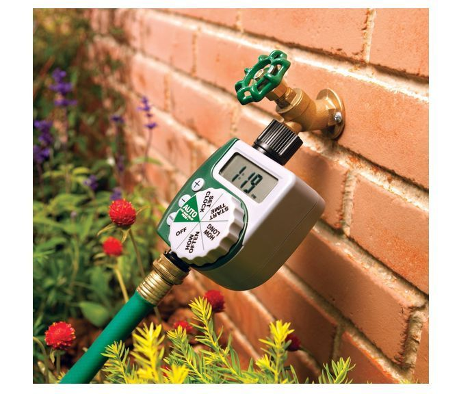 New Orbit Water Timer Digital Home Irrigation Controller Watering Lawn Garden  #Orbit