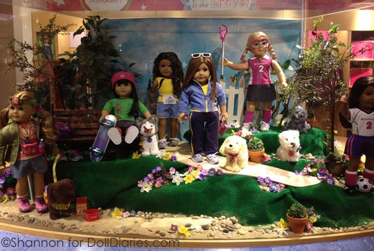 American girl store NYC spend a day there includes doll salon, show and cafe