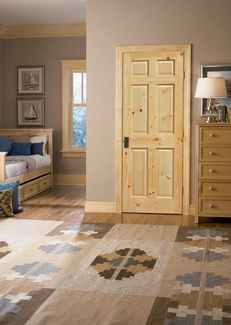 Masonite® | Knotty Pine | 6 Panel Interior Doors