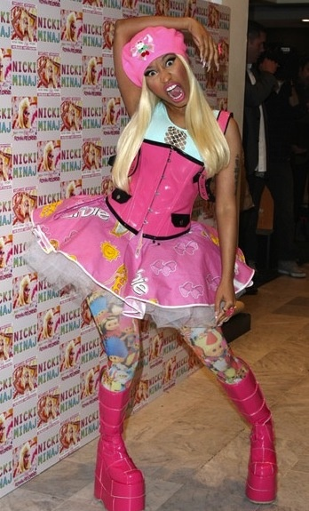 Nicki Minaj being Nicki Minaj
