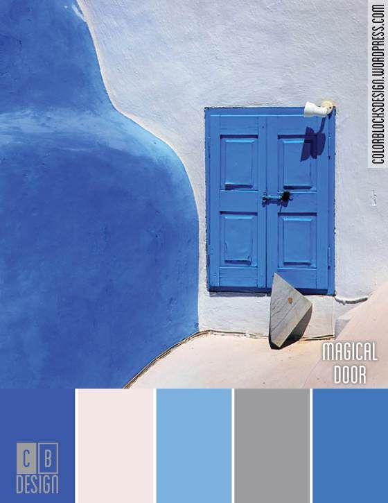 Magical Door | Color Blocks Design