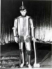 Buddy Ebsen's first makeup test as the Tin Man | The Wizard of Oz (1939 film) - Wikipedia, the free encyclopedia