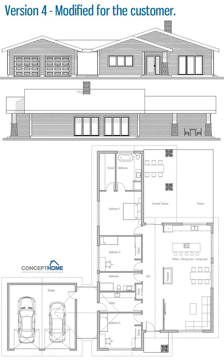 Customer House Plan  / Modified Home