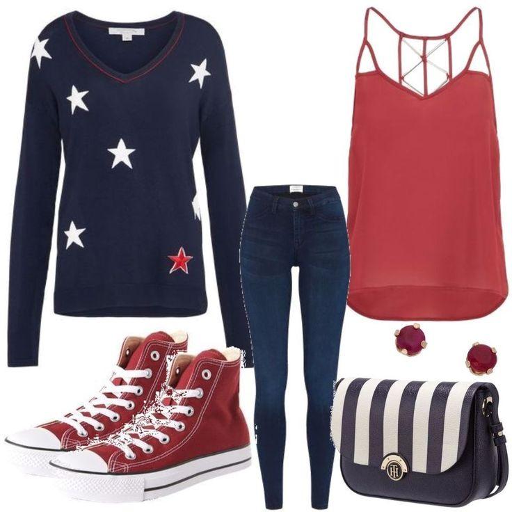 GLAMOROUS Red Outfit Outfit für Damen zum Nachshoppen auf Stylaholic