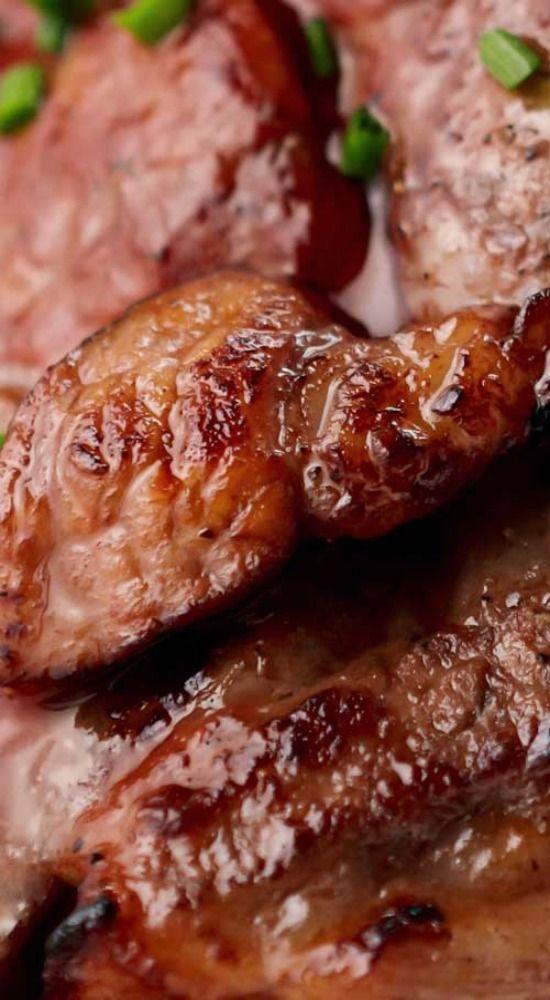 Oven Baked Cajun Pork Steaks.