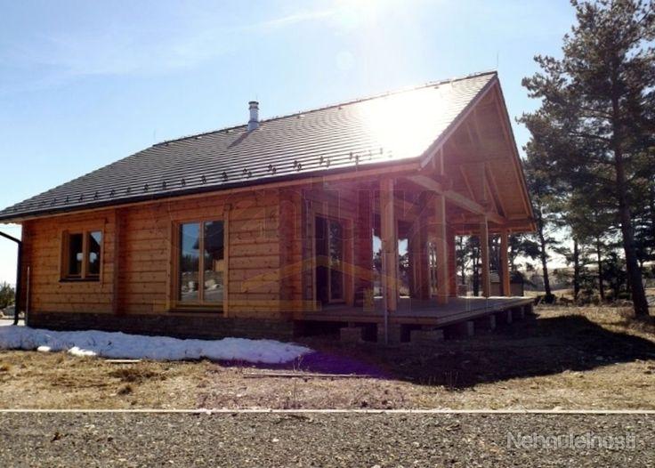Fínske Zrubové domy na kľúč priamo pri golfovom ihrisku vo Vysokých Tatrách. EXKLUZIVNE