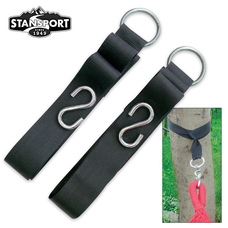 Hammock Tree Straps Two Pack | BUDK.com - Knives & Swords At The Lowest Prices!