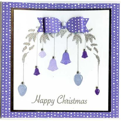 Card-io Clear Stamp - Pine Branch Wreath