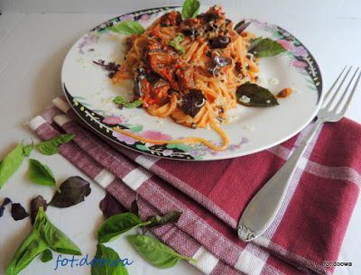 Moje Małe Czarowanie: Spaghetti alla Norma - Pasta Siciliana alla Norma ...