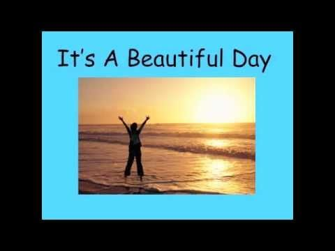 """I made the movie to go with the Song """"A Beautiful Day"""" by Greg and Steve from their """"We All Live Together Vol. 4 CD"""" .  We sing it everyday as part of our morning routine in my 1st grade class."""