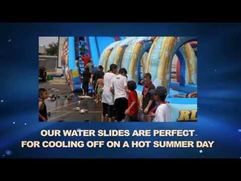 Beat the Heat with Inflatable Water Slides and Water Activities in Phoenix