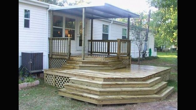 Porches Youtube Awesome Delightful Mobile Home Porch Ideas Youtube Mobile Homes Porch Design Manufactured Home Porch House With Porch