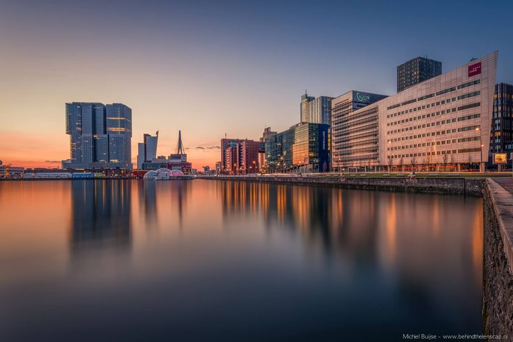 Sunset in Rotterdam | Rotterdam | Netherlands | Guided Tours | The Original Rotterdam Way! | https://www.RotterdamAdventures.nl