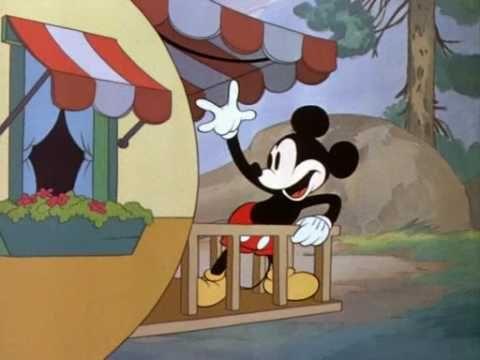 Mickey Mouse dibujos animados.