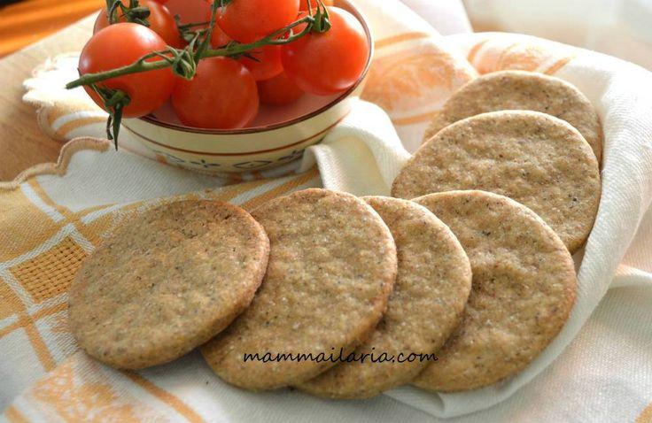 Pane azzimo con grano saraceno
