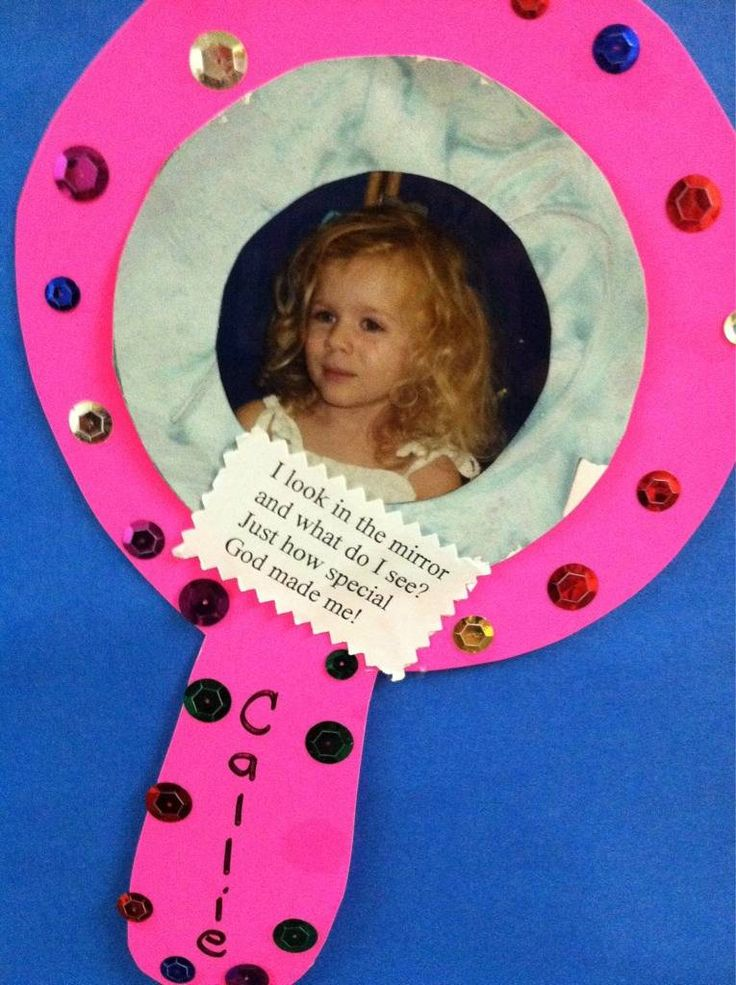 """Bulletin board """"God Made Me"""" with pictures of the children/youth. http://babygranger.blogspot.com/"""