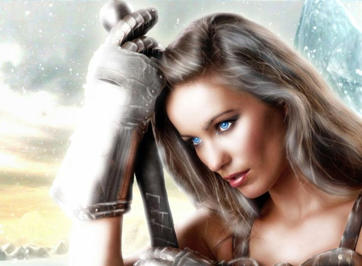 women in armor | Fantasy - Women - Woman - Warrior - Sword ...