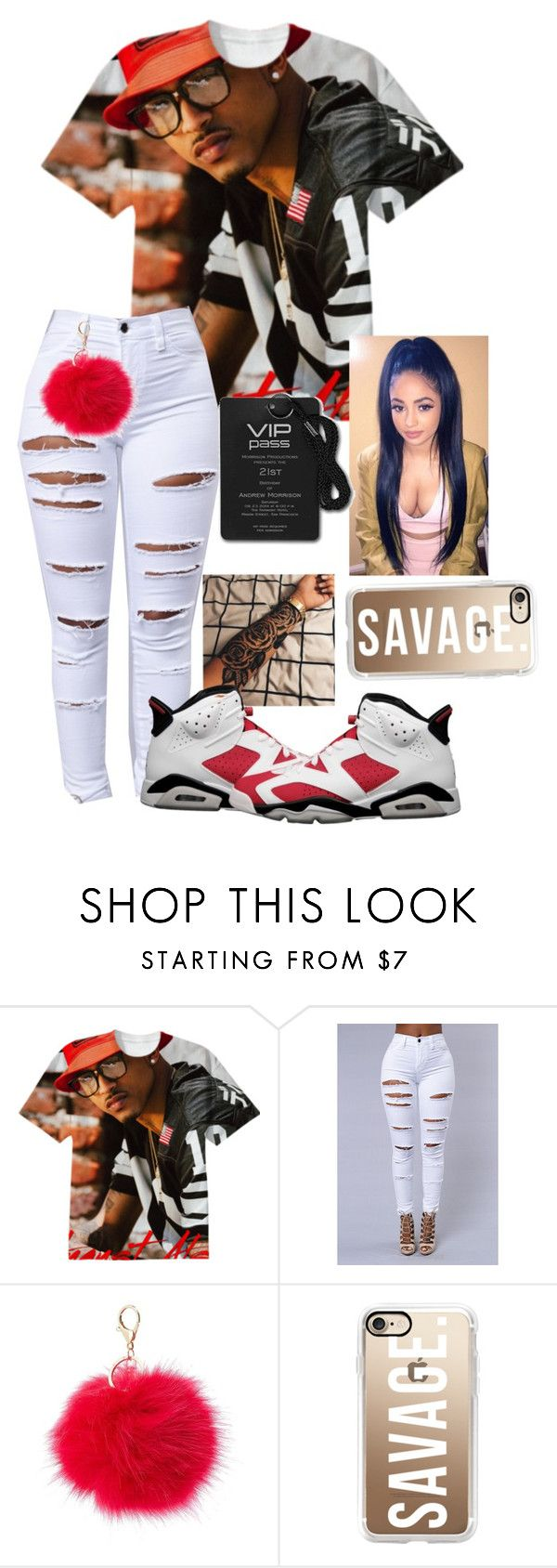 """August Alsina Concert"" by nasza100 ❤ liked on Polyvore featuring Charlotte Russe and Casetify"