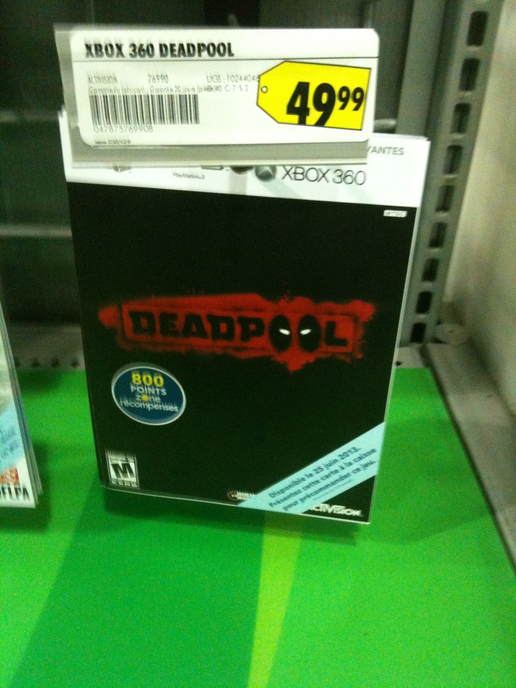 Deadpool , Xbox 360 game