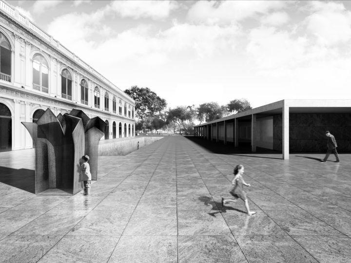 #Architecture in #Peru - #UnbuiltArchitecture by Ghezzi Novak, La Fabrica, Alberto Campo Baeza
